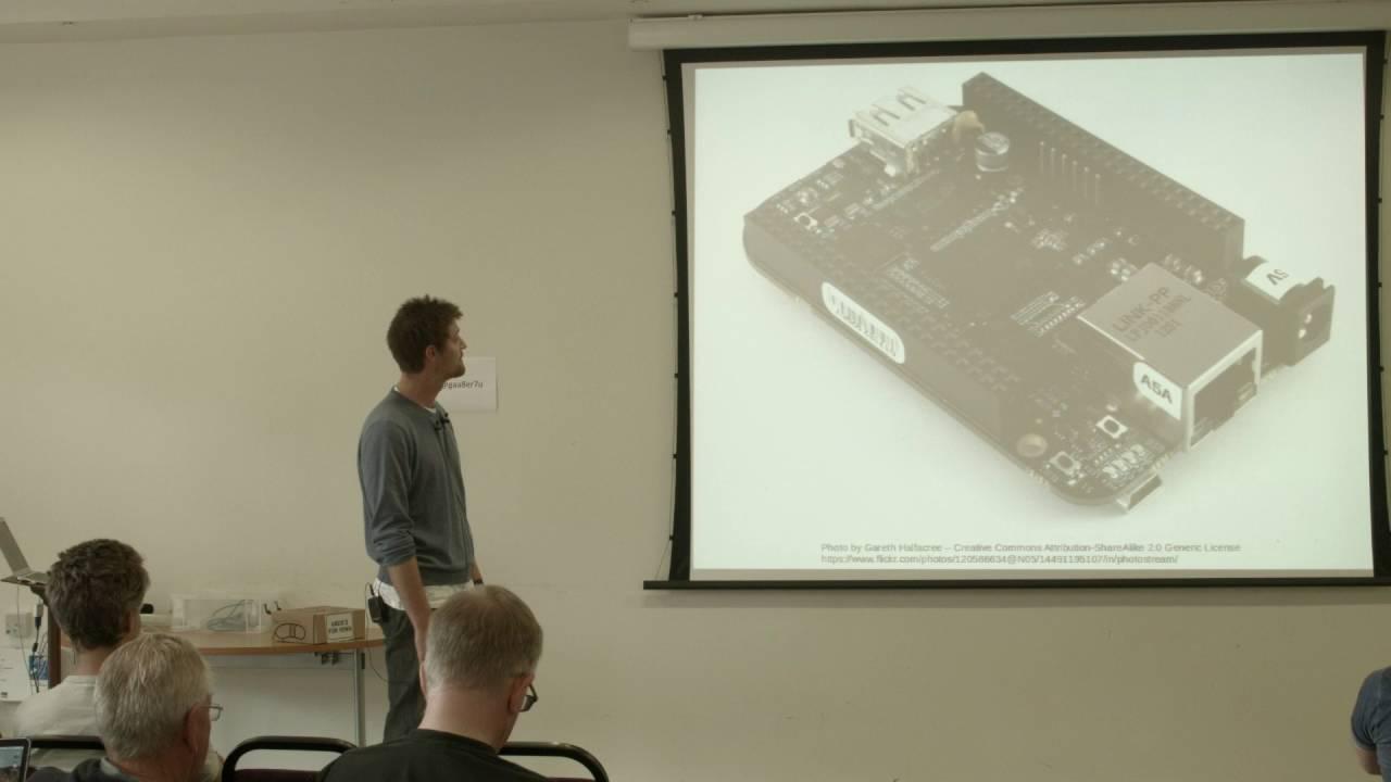 Controlling a CNC milling machine with a BeagleBone Black & Machinekit,  Stuart Childs (OSHCamp 2015)
