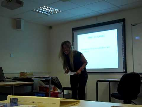 Maria's micro-teaching: Spanish numbers 1-10 - YouTube