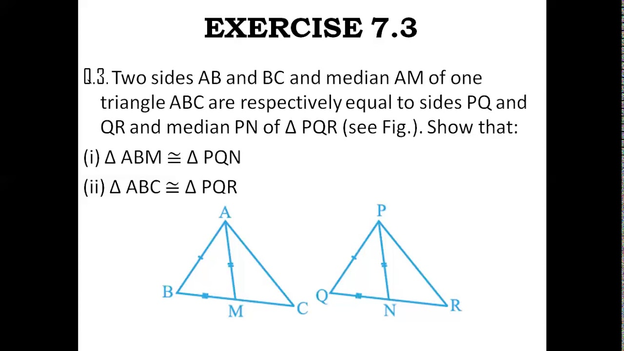 Gr IX Maths Chapter 7 TRIANGLES Part 4 - YouTube