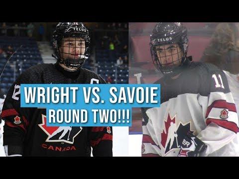 Shane Wright & Matthew Savoie SQUARE OFF At U17 Hockey Challenge