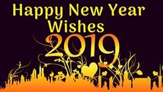 Happy New Year 2019 Whatsapp Status New Year Wishes & Greetings Motivational