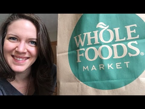 LIVE Whole Foods Haul!
