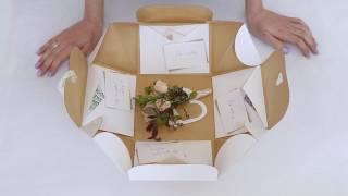 Оригинальная свадебная копилка в подарок - подарочная коробочка-сюрприз на свадьбу