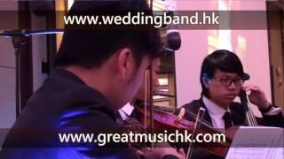4 String Trio 弦樂三重奏 Wedding Live Band HK Hong Kong 香港婚禮現場樂隊 New World Millennium Hotel 千禧新世界酒店 May20