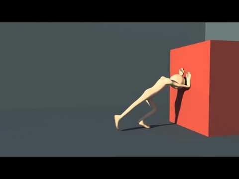 Maya Box Push Animation