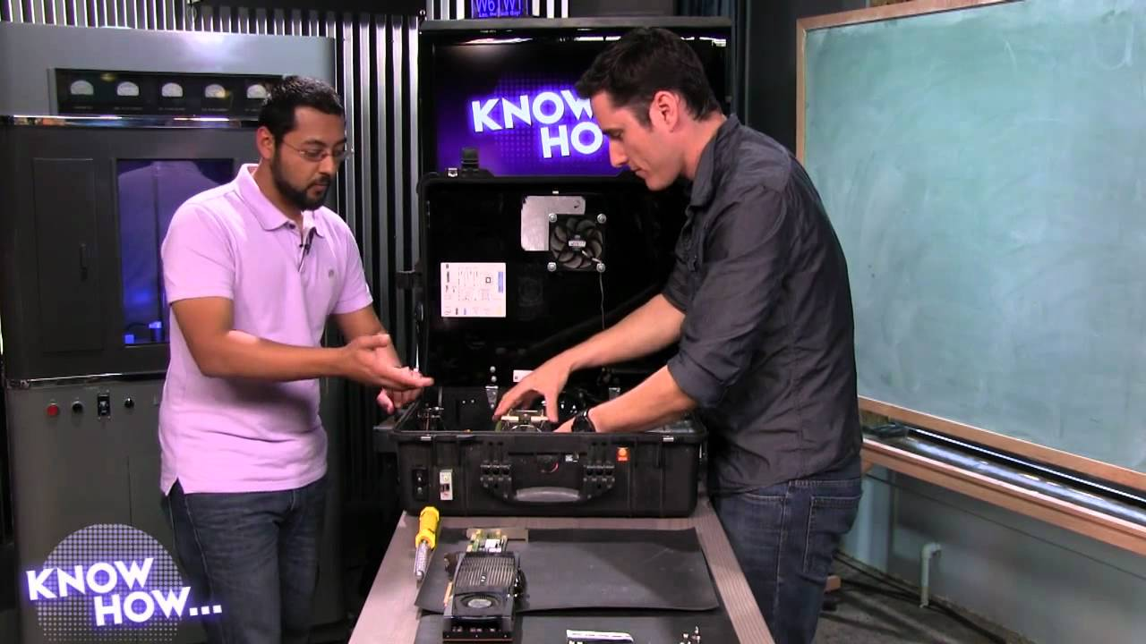 Know How 13 Portableize Your Desktop PC  YouTube