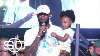Watch LeBron James' Speech Around Charlottesville Protests | SportsCenter | ESPN