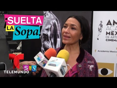 Suelta La Sopa | Dolores Heredia le dio vida a madre de Juan Gabriel en Hasta Que Te Conocí | Entre