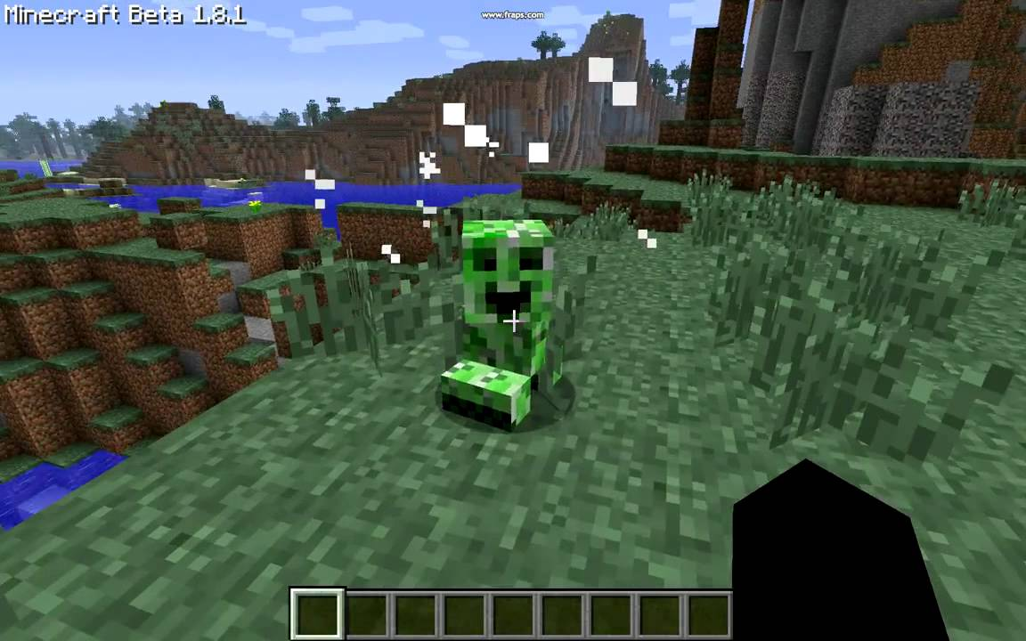Minecraft - Baby Creeper MOD - YouTube