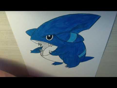 Drawing all the Pokemon: Number 443 GibleKaynak: YouTube · Süre: 3 dakika10 saniye