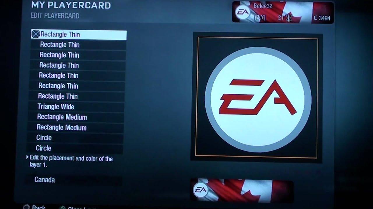 Cod black ops emblem ea sports logo hd youtube biocorpaavc