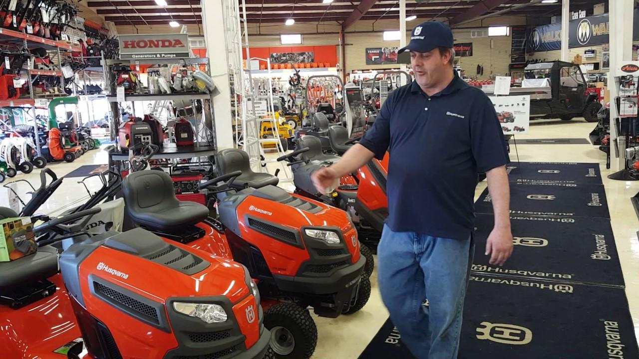 husqvarna tractors buying at servicing dealer vs online or box store youtube. Black Bedroom Furniture Sets. Home Design Ideas