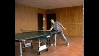 table tennis - service and return