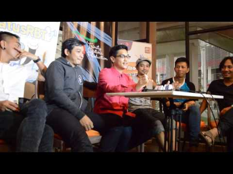 Konser Mega Bintang | Media Interview with Ungu & Afgansyah Reza
