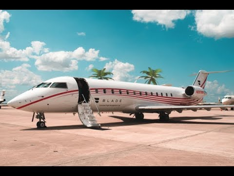 Tour of the BLADEone Jet, Bombardier CRJ 200 - Unravel Travel TV