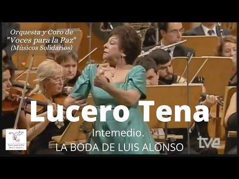 Intermedio. La boda de Luís Alonso. J Gimenez. Lucero Tena