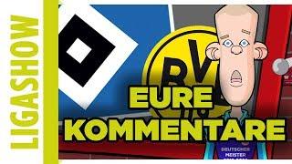 """Eure Kommentare zum Auba-Wechsel und """"Wer braucht den HSV""""? LIGASHOW"""