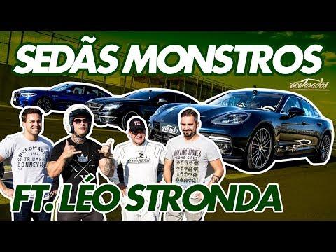CLUBE DOS 500 CV! BMW M5, PORSCHE PANAMERA E CLS 63 AMG DO LEO STRONDA NA PISTA! - ESPECIAL #212