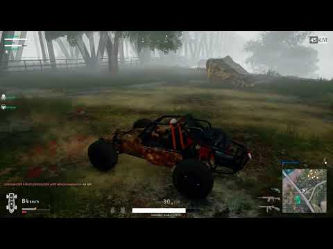 PUBG- Buggy VS Dirtbike