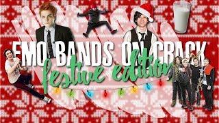 emo bands on F-F-F-FRESH cRaCk **FESTIVE EDITION** (possibly for CRANKTHATFRANK)