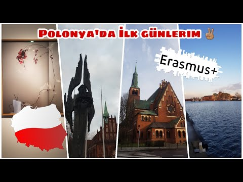 Erasmus'a Gidiyorum : Polonya Szczecin