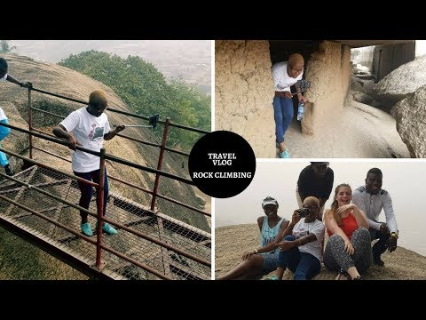 Travel vlog |  Rock climbing Olumo rock adventure, family trip | All access Olumo rock gate fee rate