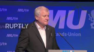 Germany: 'Merkel is the leader of the free world' - Seehofer