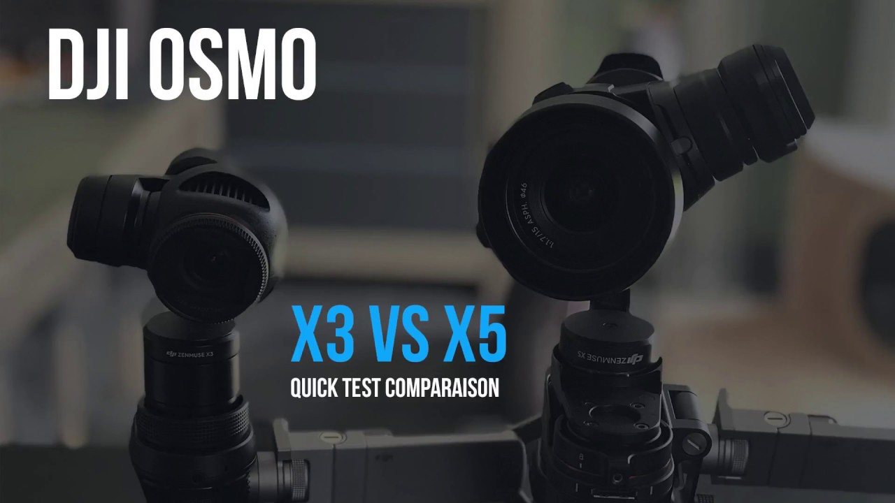 DJI OSMO X5 PRO - SETUP and CAMERA VIDEO TEST - YouTube