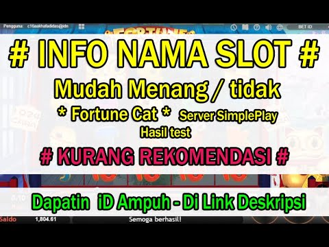 bocoran-slot-game---fortune-cat---server-simpleplay---(-cek-deskripsi-hasil-penilaian-)