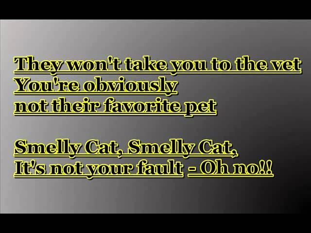 Phoebe Buffay - Smelly Cat Lyrics Chords - Chordify