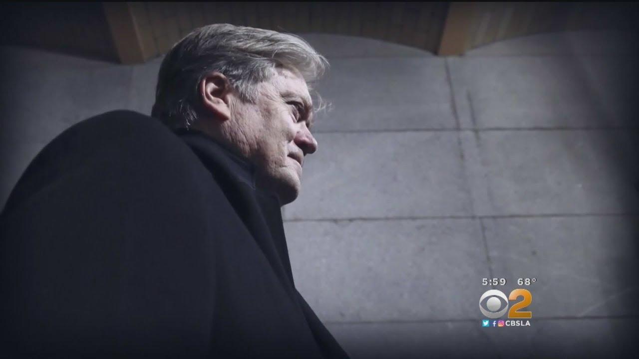 Trump Adviser Bannon To Speak At California GOP Convention
