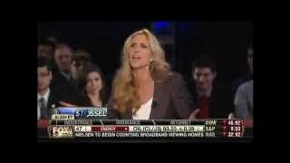 Ann Coulter Battles Stossel, Calls Libertarians 'Pussies,' And Gets Booed By Room Full Of Students
