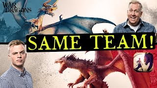 Play on the SAME Team as Chief Pat and Galadon - War Dragons!