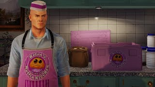 A Muffin challenge pack was added to Hitman 2. It rewards you for killing people with muffins