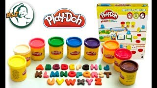 Learn letter A to Z with playdoh