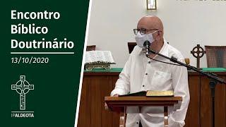Encontro Bíblico Doutrinário (13/10/2020) - Rev. Edenildo Fonteles
