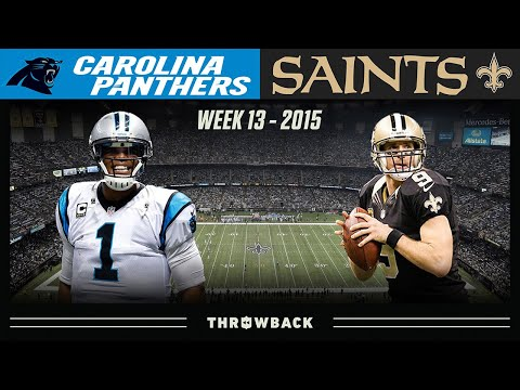 SUPER Cam in a Dome  Duel! (Panthers vs. Saints 2015, Week 13)