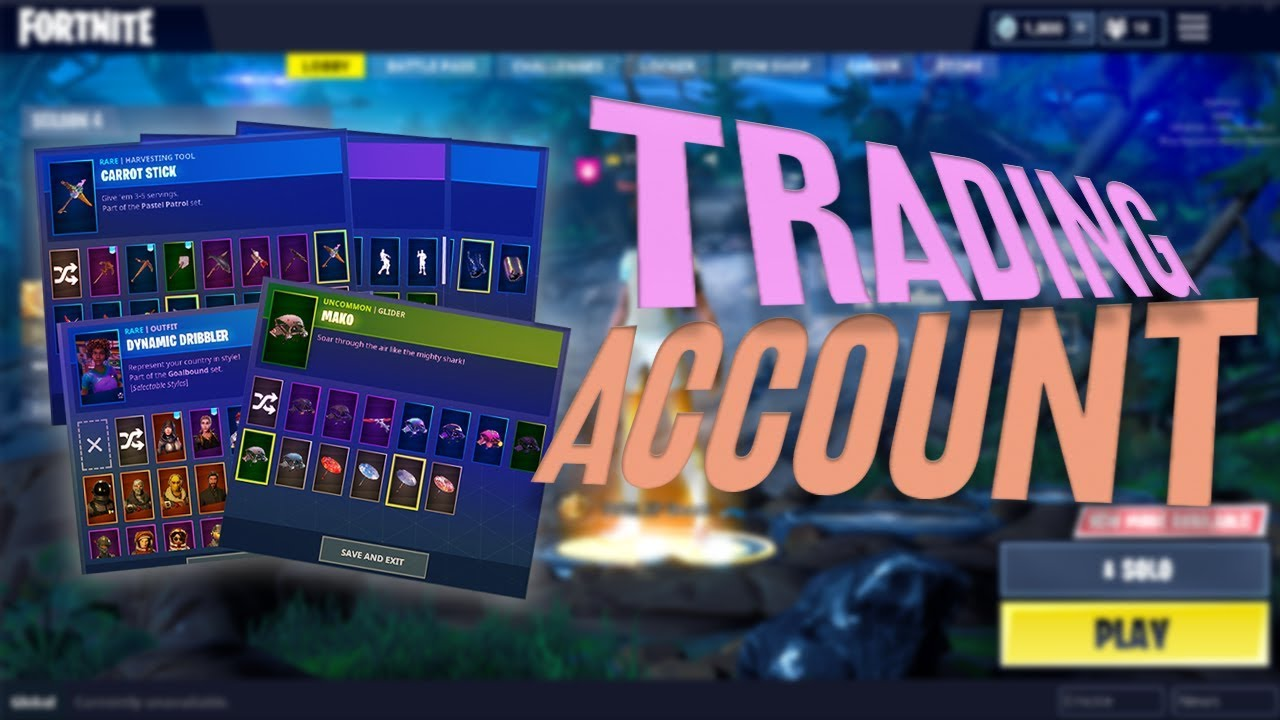 trading fortnite account looking for good offers hmu - how to trade fortnite accounts