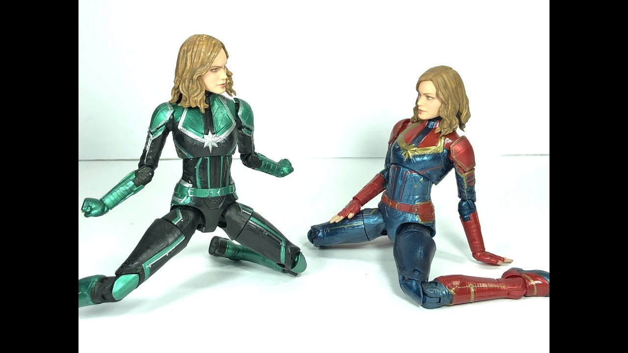 "Hasbro Marvel Legends 6/"" Inch CAPTAIN MARVEL STARFORCE Action Figure Set of 2"