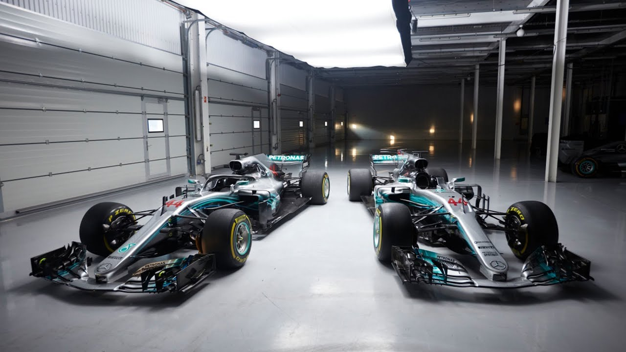 small resolution of 2018 vs 2017 mercedes f1 car explained