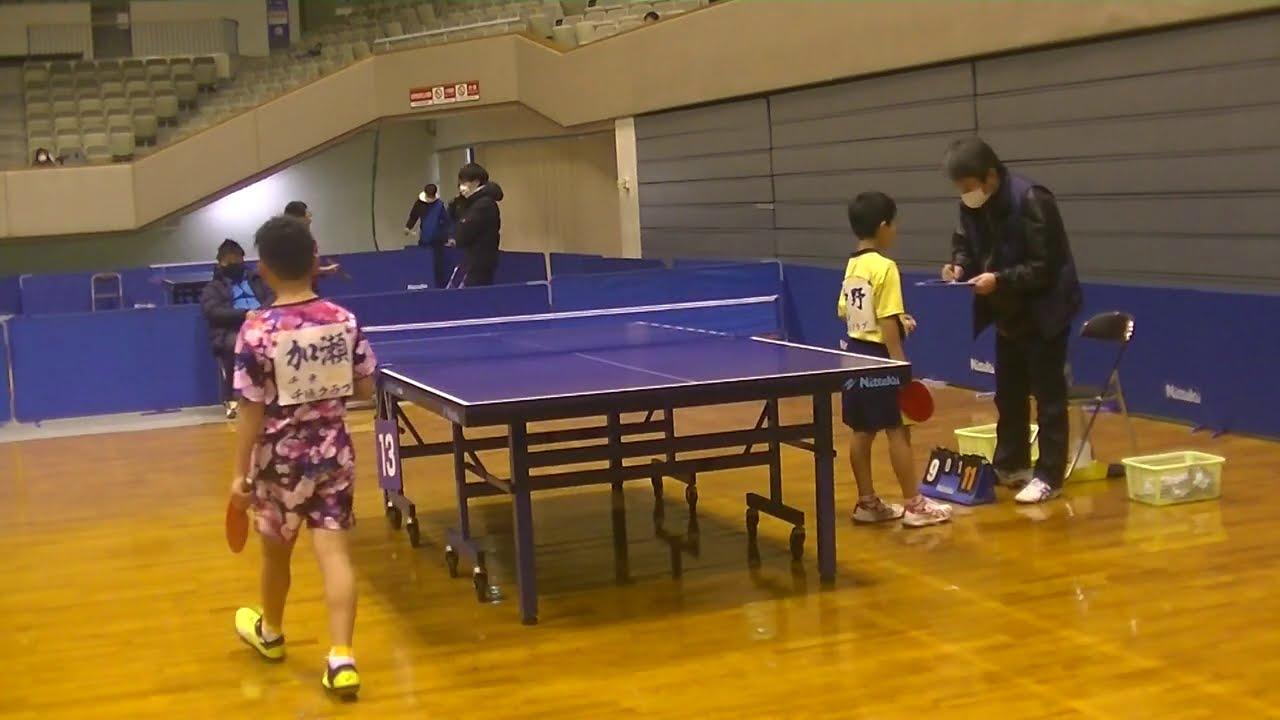 中野純大 vs 加瀬楓真|第30回東アジアホープス日本代表選考会 男子シングルス 第1ステージ Eリーグ