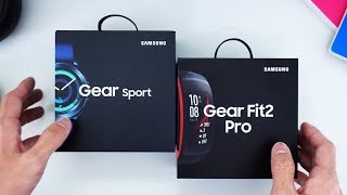 Unboxing Samsung Gear Sport & Gearfit2 Pro Indonesia!
