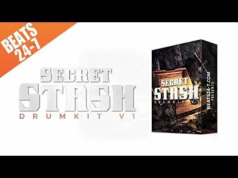 (FREE DL) Drum Kit 2017 - Hip Hop & Rap Drum Sounds - Secret Stash V1
