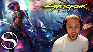 HOLY CRAP! - Cyberpunk 2077 E3 Reaction - Cyberpunk 2077 Trailer Reaction