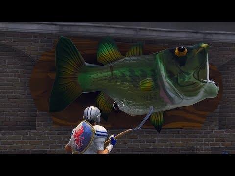 Fortnite Battle Royale - All 17 Fish Trophy Locations (Season 6 Challenge)