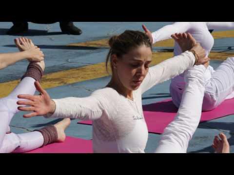 Yoga nas alturas!