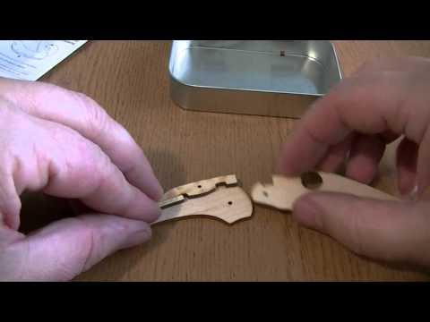 Набор юного техника - С28 Dragonfly Wooden Knife Kit