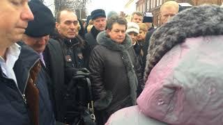 губернатор Орлова и недовольные жители Гороховца