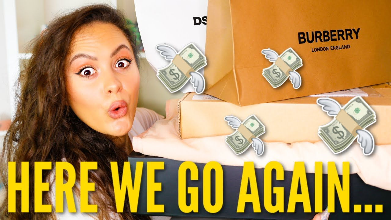 *I CANNOT BE STOPPED!* Luxury Haul 2020   Versace, Burberry & MORE!