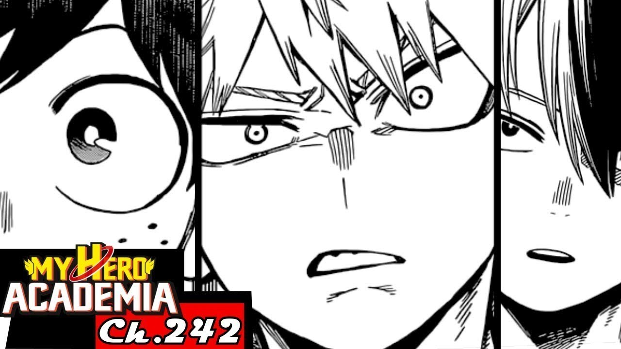 IT'S CHRISTMAS IN UA!! | MY HERO ACADEMIA CHAPTER 242 LIVE REACTION #1